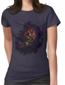 Skull Kid Womens Fitted T-Shirt