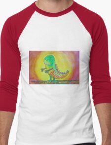 The World's Nicest Dinosaur Men's Baseball ¾ T-Shirt