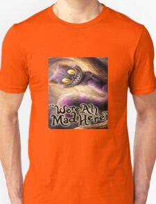 Alice in wonderland chesire cat Unisex T-Shirt