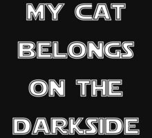 MY CAT BELONGS ON THE DARKSIDE Kids Clothes