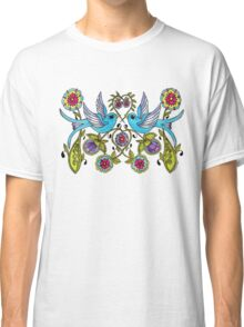 Sparrows and Hearts Classic T-Shirt