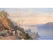 James Burrell Smith,  VIEW OF CASTLE URQUHART ABOVE LOCH NESS Photographic Print