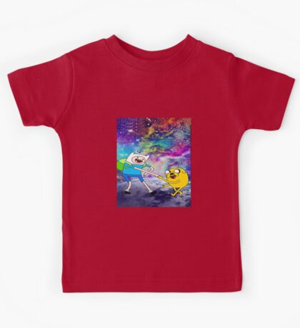 Adventure time galaxy  Kids Tee