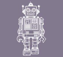 Vintage Toy Robot V2 Kids Tee