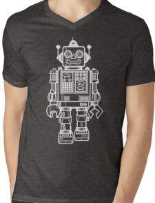 Vintage Toy Robot V2 Mens V-Neck T-Shirt