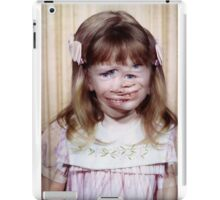 35mm Found Slide Composite - Mutant Girl iPad Case/Skin