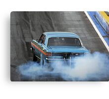 Falcon Burnout Canvas Print