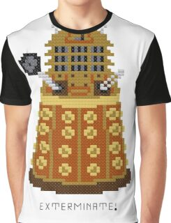 Dalek Exterminate Graphic T-Shirt