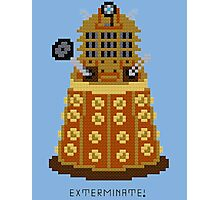 Dalek Exterminate Photographic Print