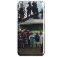 35mm Found Slide Composite - Untitled iPhone Case/Skin