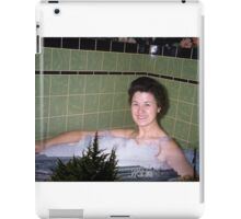 35mm Found Slide Composite - Big Bath iPad Case/Skin
