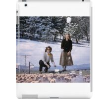 35mm Found Slide Composite - Snowball Sheep iPad Case/Skin