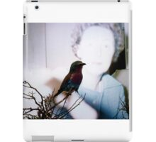35mm Found Slide Composite - Bird Woman iPad Case/Skin