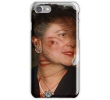 35mm Found Slide Composite - Mutant Lady iPhone Case/Skin