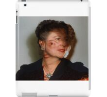 35mm Found Slide Composite - Mutant Lady iPad Case/Skin