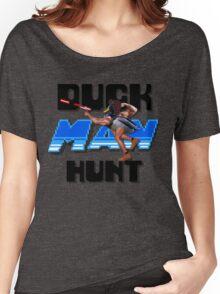 Duckman Hunt 8 Bit Retro Women's Relaxed Fit T-Shirt