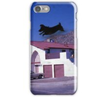 35mm Found Slide Composite - Dog House iPhone Case/Skin