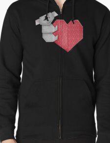 Cuddly Koala and Heart Origami T-Shirt