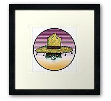 Sombrero man¿? Framed Print