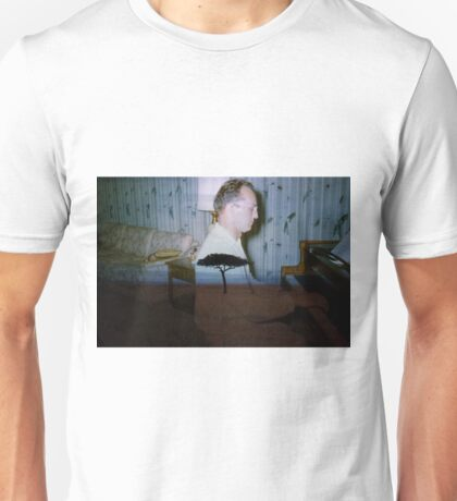 35mm Found Slide Composite - Piano Tree Unisex T-Shirt