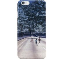 35mm Found Slide Composite - Tree Bridge iPhone Case/Skin