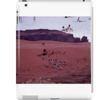 35mm Found Slide Composite - Desert Beach iPad Case/Skin