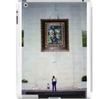 35mm Found Slide Composite - Big Painting iPad Case/Skin