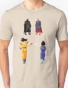 Comics vs Mangas T-Shirt