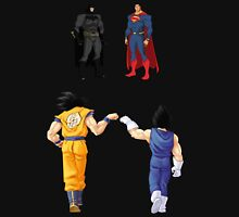 Comics vs Mangas Unisex T-Shirt