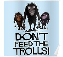 Dont Feed The Trolls Poster