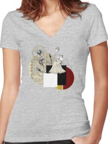 Validity Women's Fitted V-Neck T-Shirt
