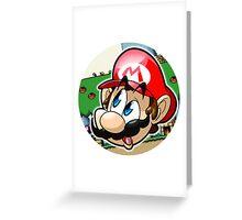 Mario Greeting Card