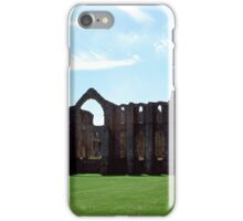 Fountains Abbey, Midsummer iPhone Case/Skin