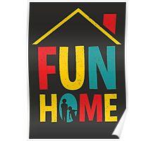 Fun Home Logo Poster
