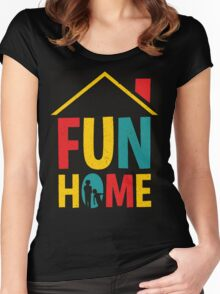 Fun Home Logo Women's Fitted Scoop T-Shirt