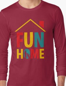 Fun Home Logo Long Sleeve T-Shirt