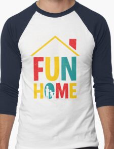 Fun Home Logo Men's Baseball ¾ T-Shirt