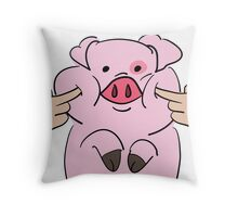 Squishy Waddles Throw Pillow