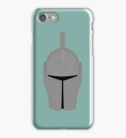 Faraam Knight Helm iPhone Case/Skin