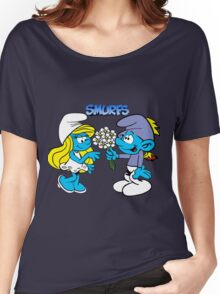 smurf Women's Relaxed Fit T-Shirt