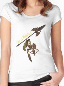 Smite - You is Rockstar! (Chibi) Women's Fitted Scoop T-Shirt