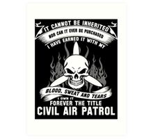 Always Vigilant Air Force  America Auxiliary of the United States Air  Art Print
