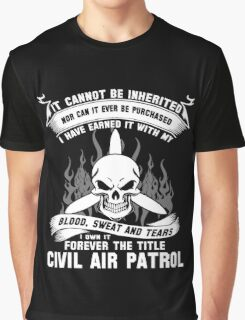 Always Vigilant Air Force  America Auxiliary of the United States Air  Graphic T-Shirt
