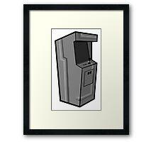 Arcade, Gray Framed Print