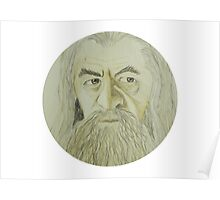 Gandalf Watercolour Poster