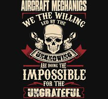 aircraft mechanic Car Mechanic T Shirts aircraft mechanic Auto Mechani Unisex T-Shirt