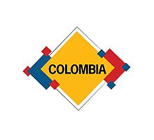 Colombia Modern Photographic Print