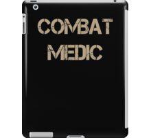 Combat Medic Dad combat medic sister combat medic grandma combat medic iPad Case/Skin