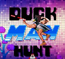 Duckman Hunt 8 Bit Retro by Doge21