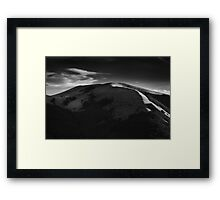 The Shadow Line Framed Print